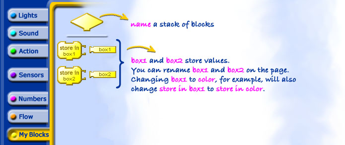 how to change block references